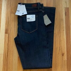 NWT PAIGE Skyline Skinny Mid Rise Jeans 30